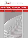 Macedonian Clothes for Europe Cover Image
