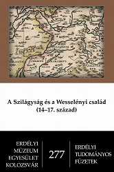 Sălaj (Szilágy) Region and the Wesselényi Family (14–17th centuries) Cover Image