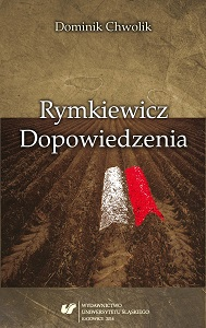 Rymkiewicz. Annotations Cover Image