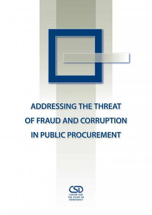 Addressing the Threat of Fraud and Corruption in Public Procurement: Review of State of the Art Approaches