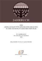 Annual of the Association for the History of the Jews in the Čechoslovak Republic IV Cover Image