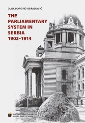 The Parliamentary System in Serbia 1903-1914 Cover Image