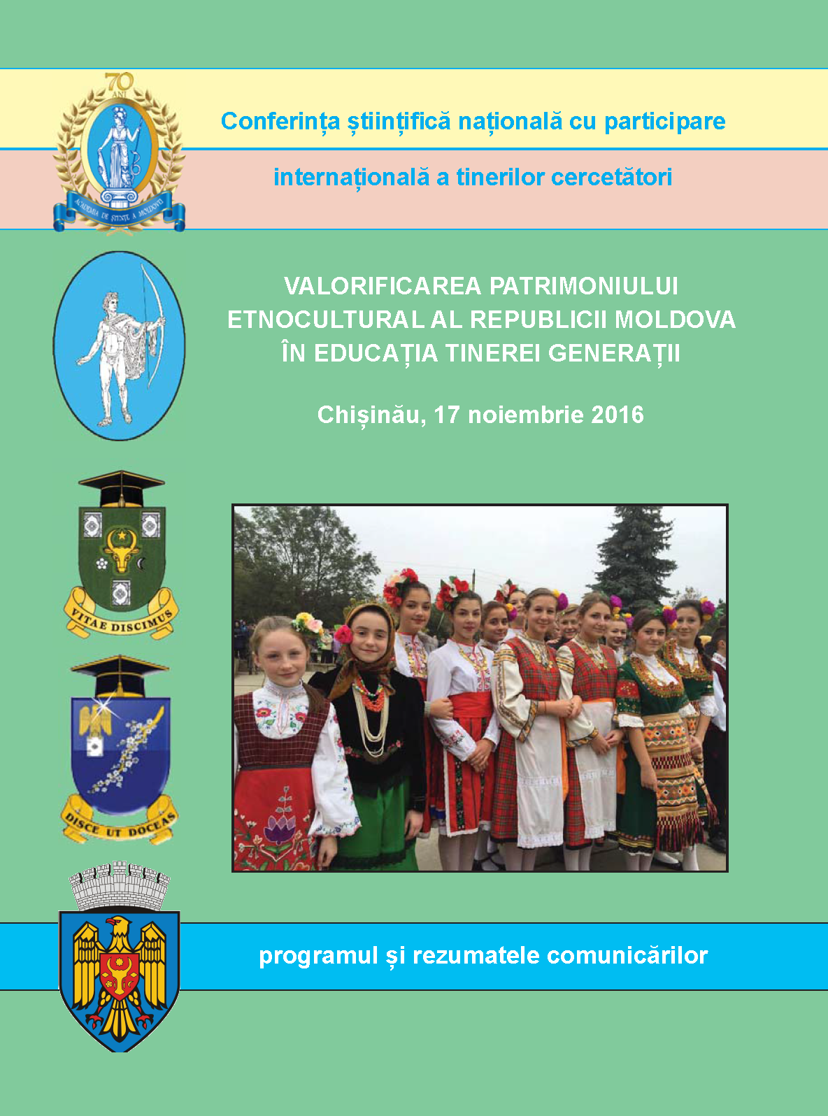 Ethno-cultural heritage of Moldova to the youngest generation education Cover Image