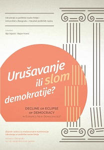 Decline or Eclipse of Democracy in Europe's New Democracies? Cover Image