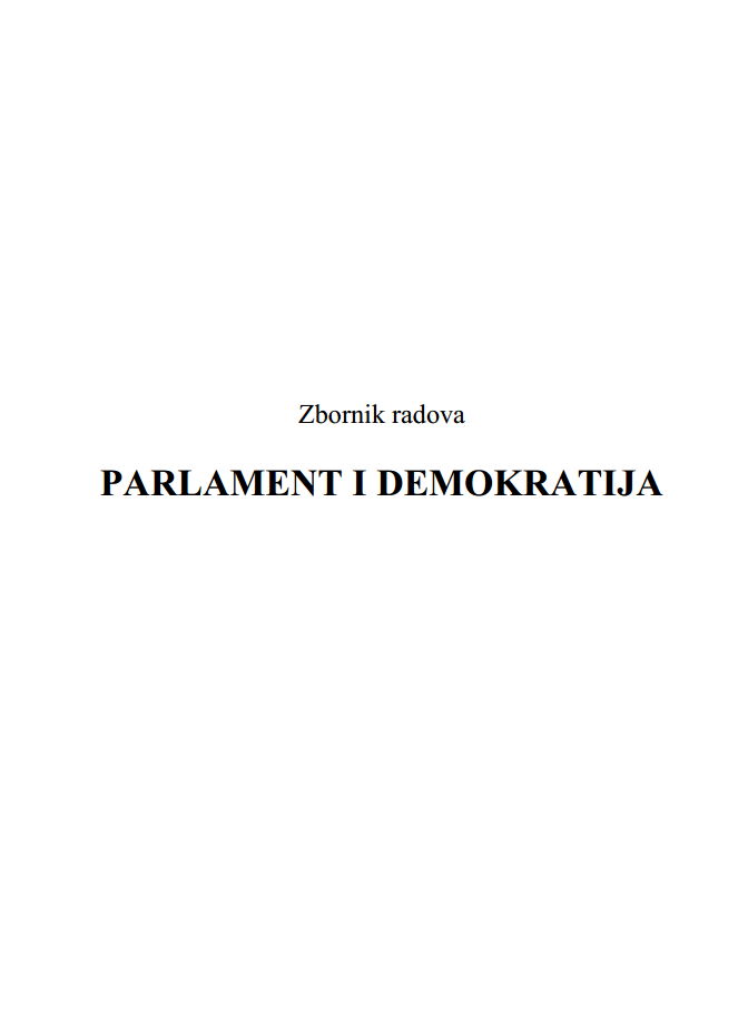 Parliament and Democracy Cover Image