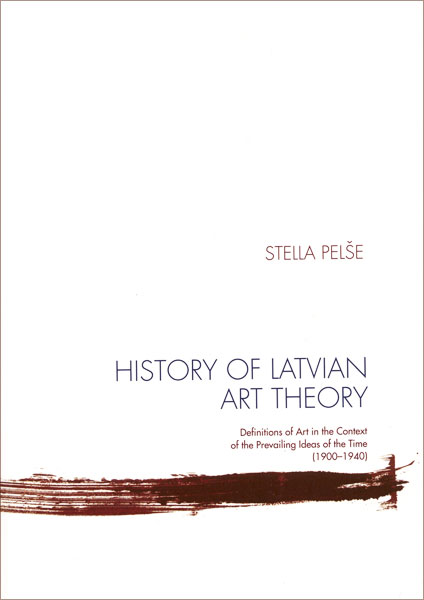 History of Latvian Art Theory Cover Image