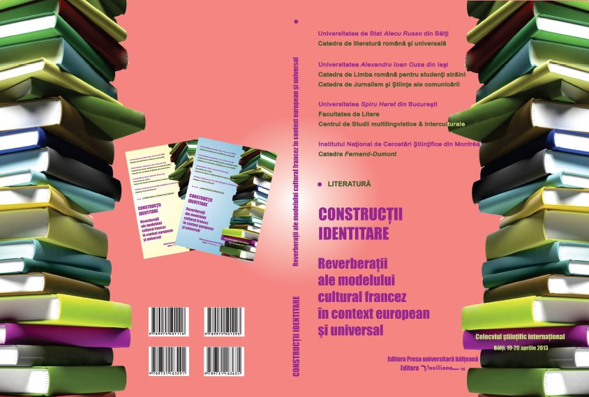 Identity constructs - Literature Cover Image