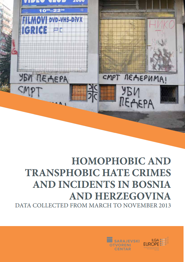 Homophobic and transphobic hate crimes and incidents in Bosnia and Herzegovina