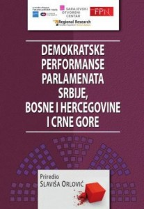 CONSTITUTIONAL AND POLITICAL-LEGAL FRAMEWORK OF PARLIAMENT IN MONTENEGRO 1989-2012 Cover Image