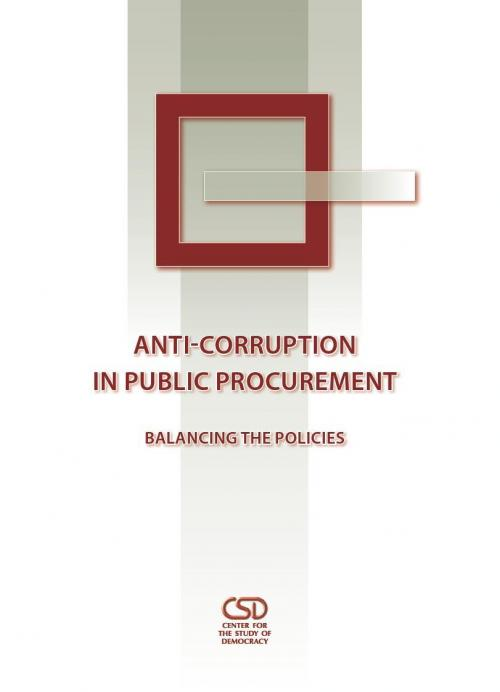 Anti-Corruption in Public Procurement: Balancing the Policies