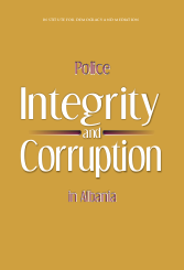 Police Integrity and Corruption in Albania Cover Image
