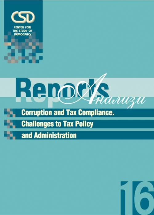 #16 Corruption and Tax Compliance. Policy and Administration Challenges