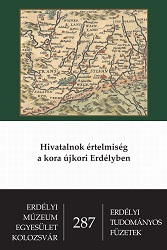 Officialdom in Early Modern Transylvania Cover Image