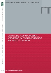 FINANCIAL AND ECONOMICAL PROBLEMS IN THE FIRST DECADE OF THE 21ST CENTURY