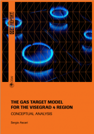 The Gas Target Model for the Visegrad 4 Region