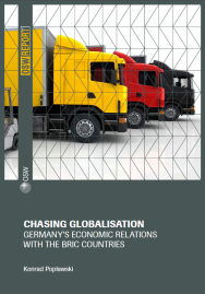 Chasing globalisation. Germany's economic relations with the BRIC countries Cover Image
