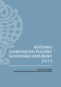 Yearbook of Slovakia's Foreign Policy 2015 Cover Image