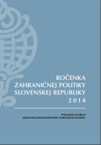 Yearbook of Slovakia's Foreign Policy 2014 Cover Image