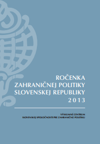 Yearbook of Slovakia's Foreign Policy 2013 Cover Image