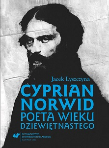 Cyprian Norwid. A Poet of the Nineteenth Century Cover Image