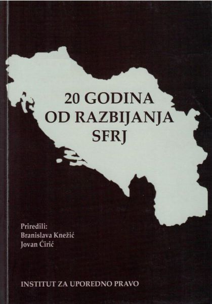 "Breakup of the Second Yugoslavia as an Introduction to the ""Humanitarian"" Interventions Cover Image"