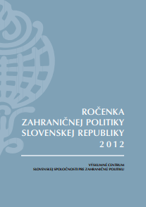 Yearbook of Slovakia's Foreign Policy 2012 Cover Image