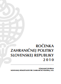 Yearbook of Slovakia's Foreign Policy 2010 Cover Image