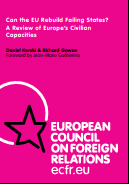 (018) CAN THE EU REBUILD FAILING STATES? A REVIEW OF EUROPE'S CIVILIAN CAPACiTIES
