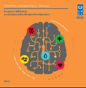 UNDP Human Development Report 2014 – MONTENEGRO. – Resource Efficiency and sustainable Human Development Cover Image