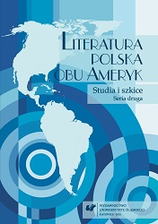 The Polish Literature of North and South America. Studies and Essays. Second Series Cover Image