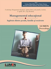 Educational Management. Connection between school, family and the society Cover Image