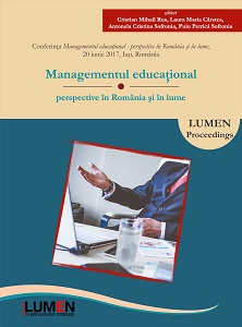 Educational management – perspectives in Romania and worldwide Cover Image