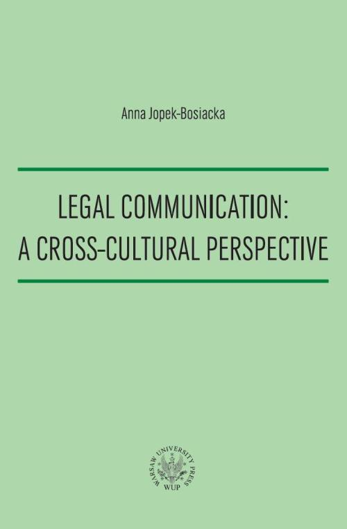Legal Communication: A Cross-Cultural Perspective