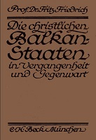 The Christian Balkan-States. A historical Introduction Cover Image