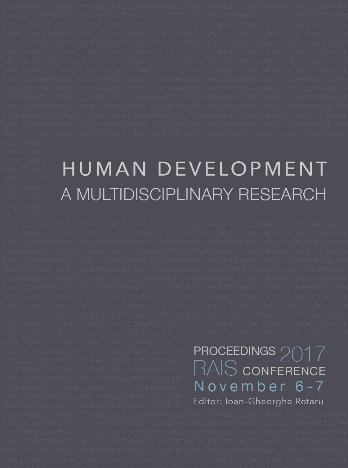 Human Development – A Multidisciplinary Research Cover Image