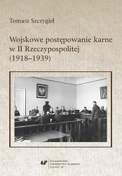 Military criminal procedure in the Second Polish Republic (1918–1939) Cover Image