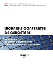Paper proceedings of the research conference on constructions, economy of constructions, architecture, urbanism and territorial development Cover Image
