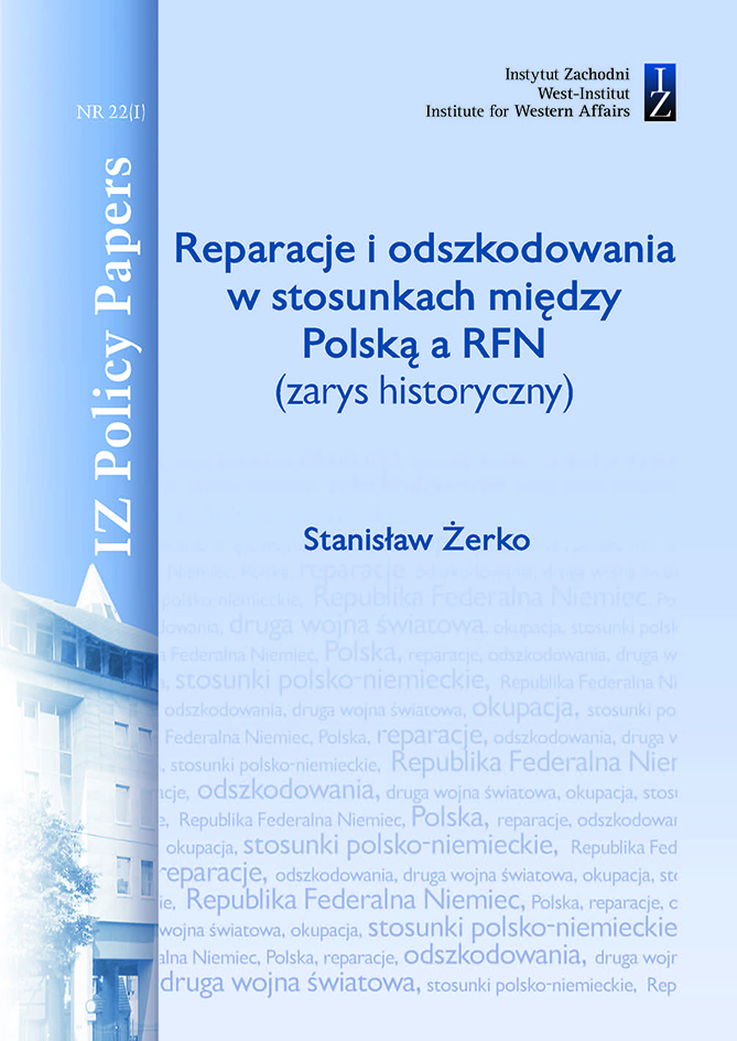 Reparations and compensation in relations between Poland and Germany Cover Image