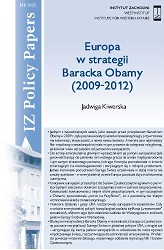Europa w strategii Baracka Obamy (2009-2012)