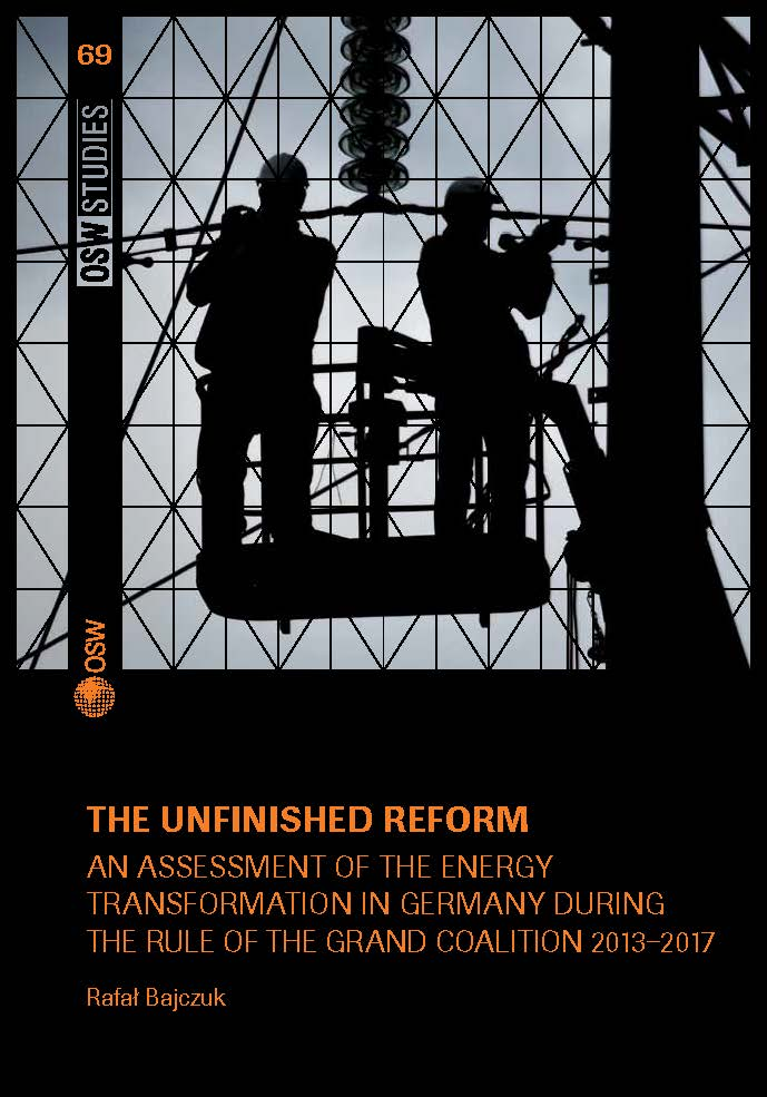 The unfinished reform. An assessment of the energy transformation in Germany Cover Image