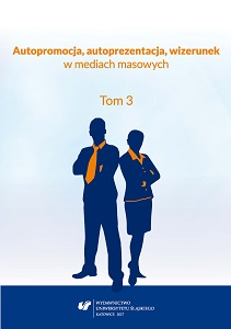 Self-promotion, self-presentation and one's image presented in mass media. Vol. 3 Cover Image