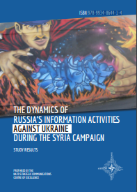 THE DYNAMICS OF RUSSIA'S INFORMATION ACTIVITIES AGAINST UKRAINE DURING THE SYRIA CAMPAIGN Cover Image