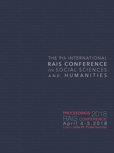 Proceedings of the 9th International RAIS Conference on Social Sciences and Humanities