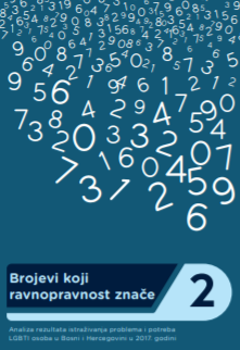 Numbers of Equality 2 - Research on Problems and Needs of LGBTI Persons in Bosnia and Herzegovina in 2017 - Analysis of Findings Cover Image