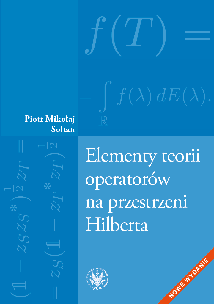 Elements of the Theory of Operators on Hilbert Space Cover Image