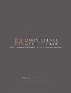 Proceedings of the 10th International RAIS Conference on Social Sciences and Humanities