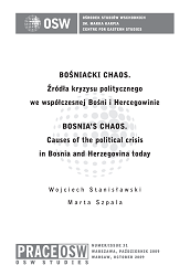 Bosnia's chaos. Causes of the political crisis in Bosnia and Herzegovina today Cover Image