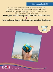 Strategies and Development Policies of Territories. International, Country Region,  City Location Challenges