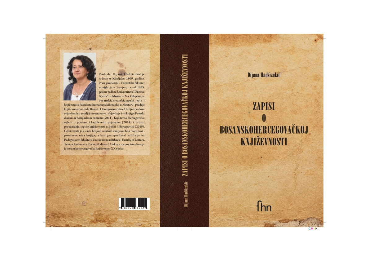 Notes about Bosnian-Herzegovinian Literature Cover Image
