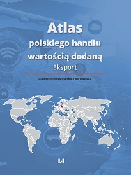 Atlas of Polish Trade in Value-Added. Export Cover Image